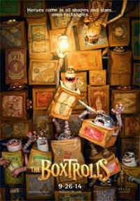 Los Boxtrolls 2014